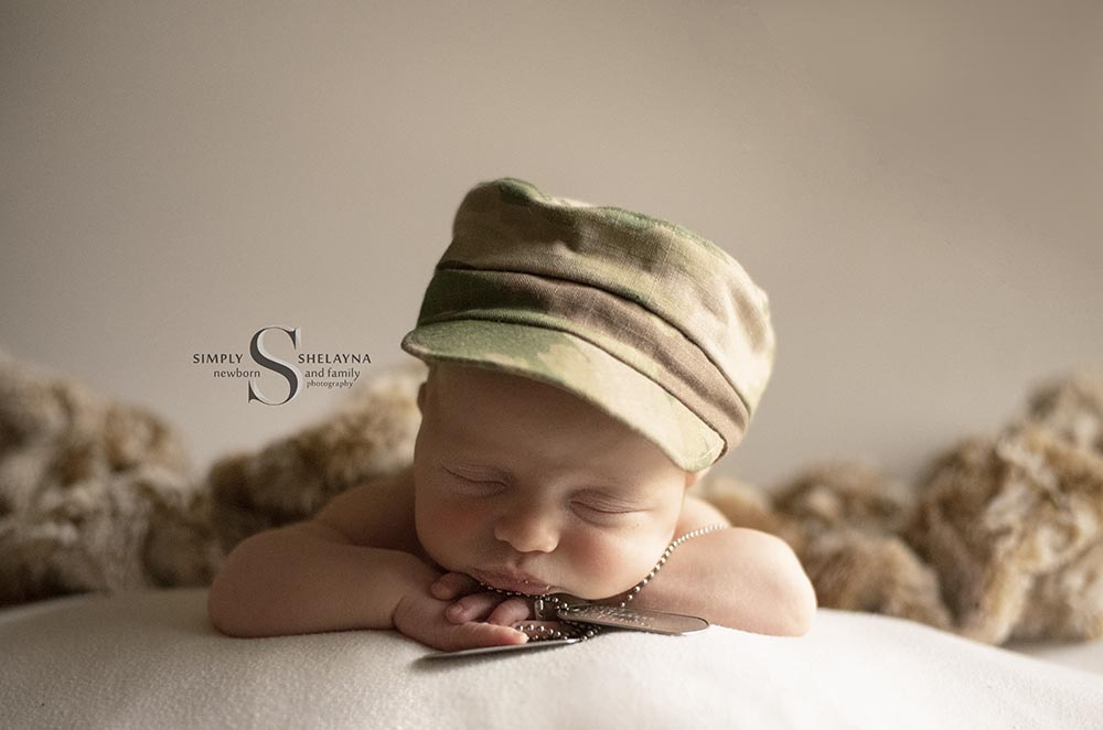 Fort Campbell Newborn Photography