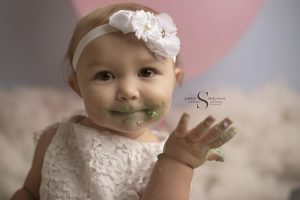 Layla's 1-Year Session | Oswego NY Baby Photographer