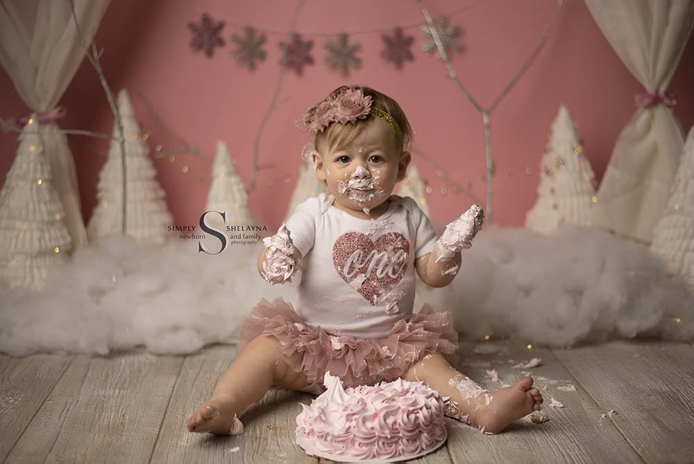 Avery loved her cake!