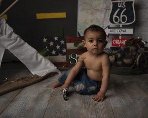Eli's Cake Smash Session   Utica NY Baby Photographer
