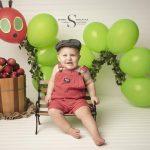 Knox's Cake Smash Session   CNY Baby Photographer
